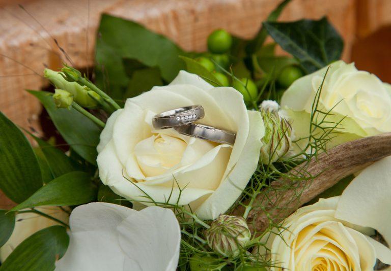 Hochzeitsfotografie Brautstrauß