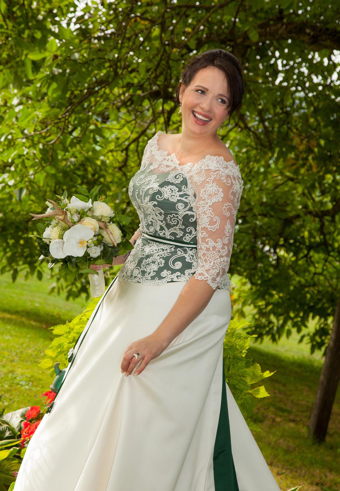Hochzeitsfotografie Braut Trachtenhochzeit