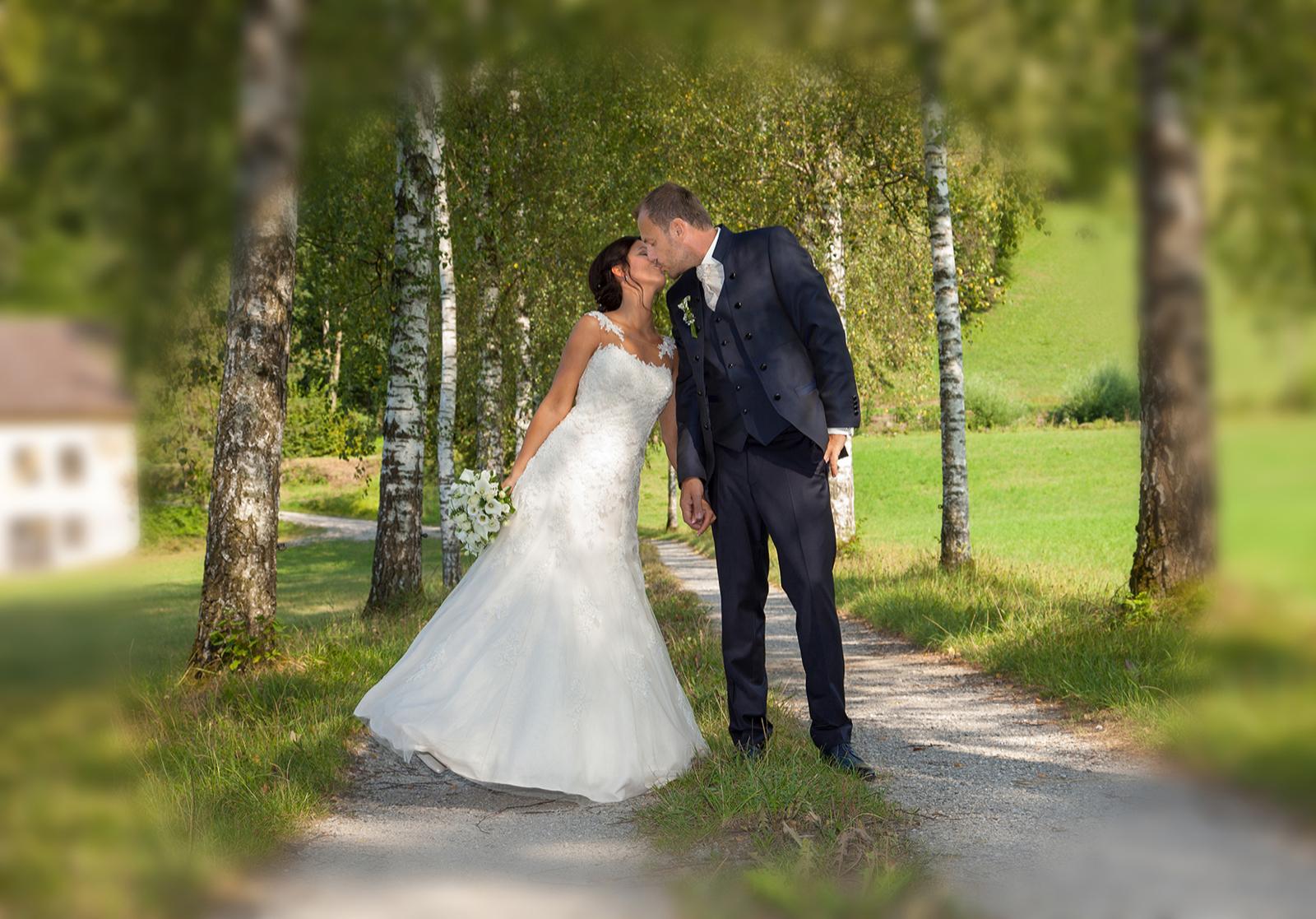 Hochzeitsfotografie Natur